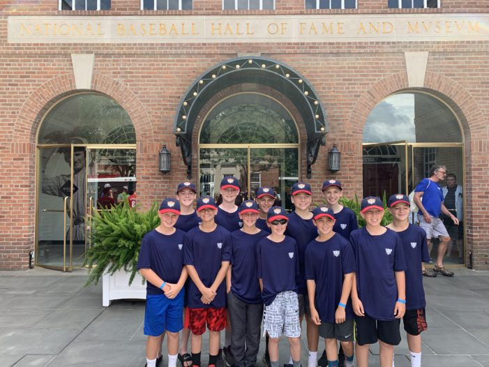 Webster Warthogs 12U finish pool play undefeated