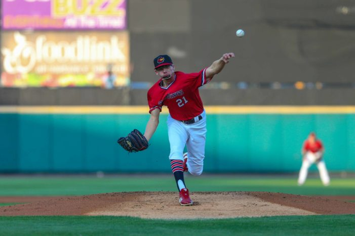 Red Wings outlast Pearson, come back to beat Bisons