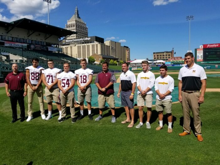 Aquinas and McQuaid set for Frontier Field Kickoff Classic next Saturday