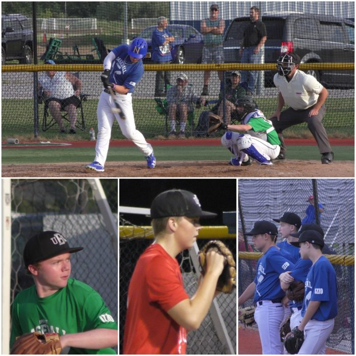 UBL Tuesday: Big first inning carries DI Green; Trio pitches DII Blue to win