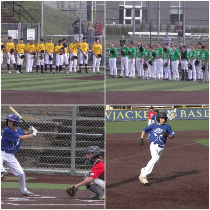 UBL Thursday: Merlo leads DII Blue at the plate and on the mound; DI Green uses seven-run fifth to runaway from DI Gold
