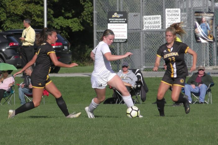 Brighton girls rally for road win