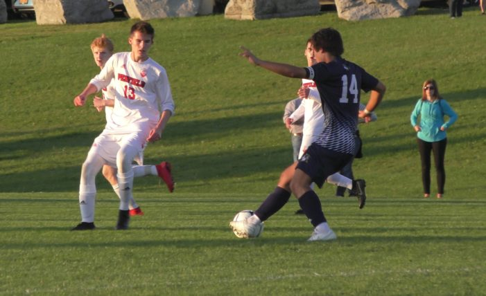 Freshman Gravino leads Victor past Penfield