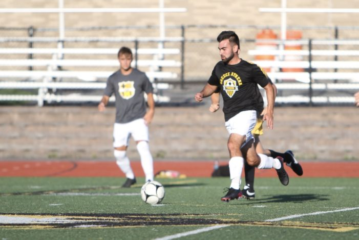 Tracey's goal in overtime clinches Athena win over Mendon
