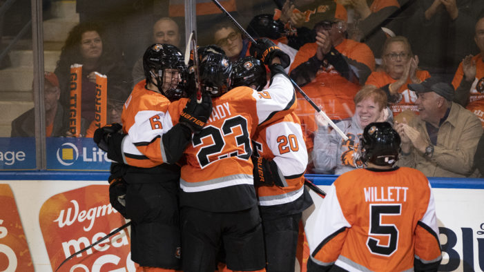 RIT wins 4-1 at Niagara, Saturday night