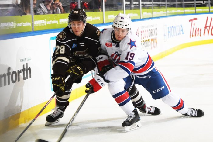 Smith gets back to scoring as Amerks defeat Hershey