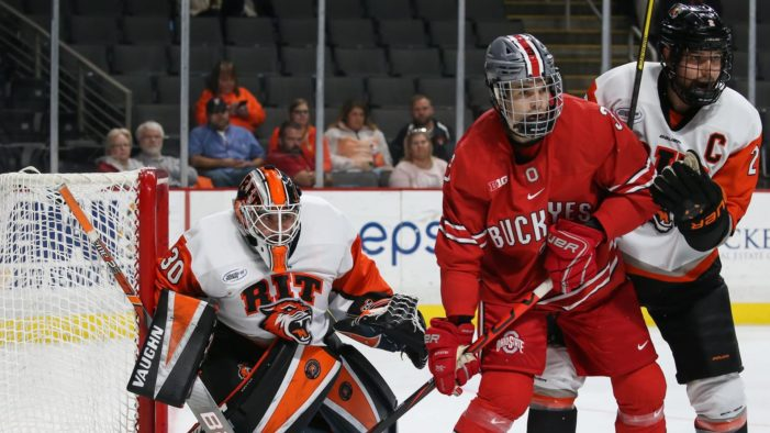 RIT loses Ice Breaker Tournament title game against No. 12 Ohio State
