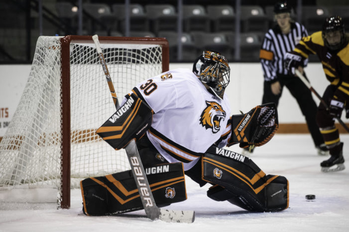 RIT's backup goalie responds in a big way for women's hockey team