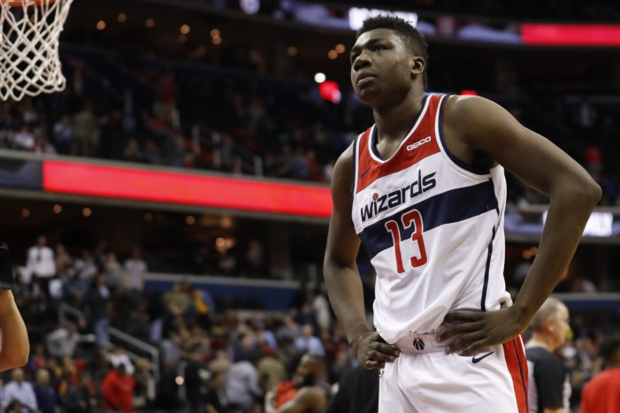 Thomas Bryant, Wizards come up just short in San Antonio