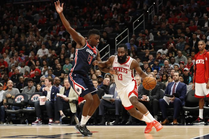 Thomas Bryant sets career-high with 4 blocks in Wizards' home opener