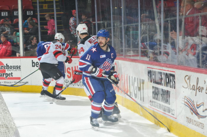 Amerks win fifth straight in Binghamton