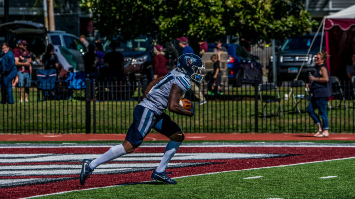 Earnest Edwards becomes Maine's all-time leading receiver