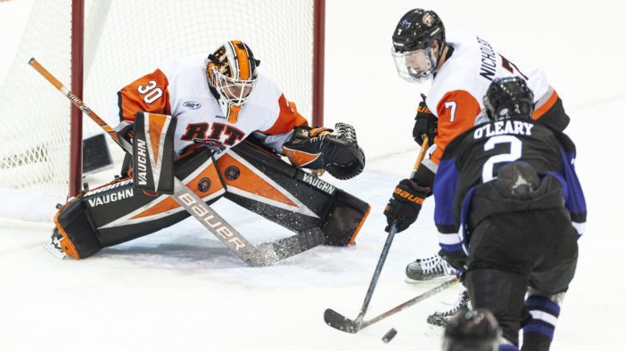 RIT falls to Holy Cross in a shootout