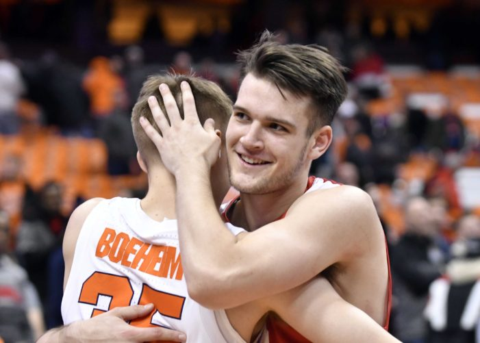 Buddy, Jimmy Boeheim will start opposite each other in Syracuse-Cornell