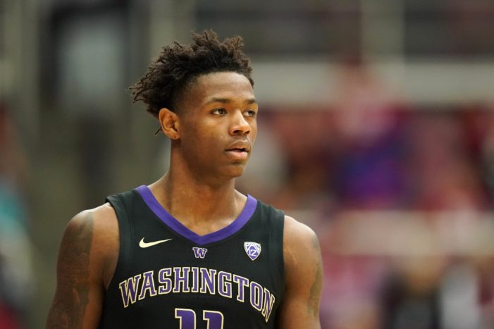Nahziah Carter, Isaiah Stewart lead Washington to upset of No. 16 Baylor