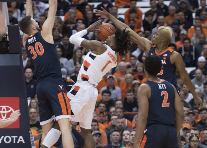 Syracuse's offense historically bad in season-opening loss to No. 11 Virginia