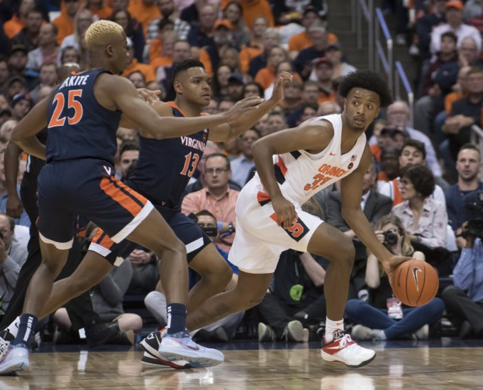 Syracuse film review: Was 34 points a result of good Virginia defense, bad SU offense, or both?