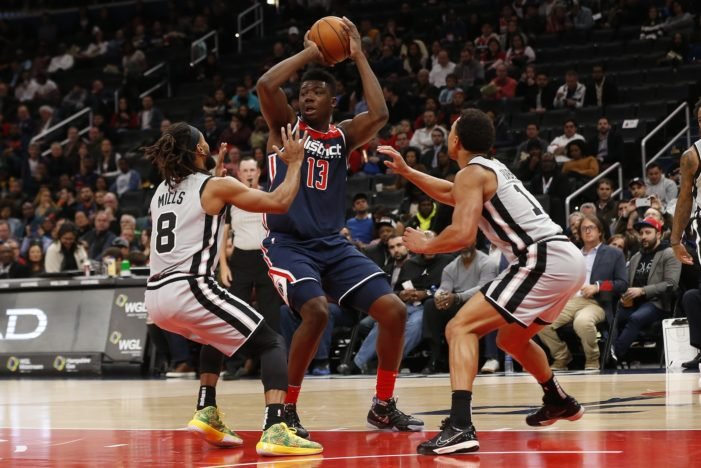 Thomas Bryant's career-high in assists helps Wizards beat Spurs, 138-132