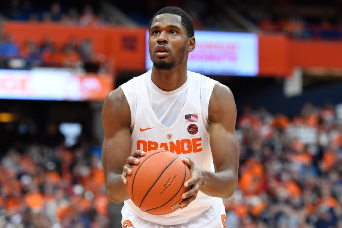Seton Hall punished by NCAA for tampering in transfer of former Syracuse forward Taurean Thompson
