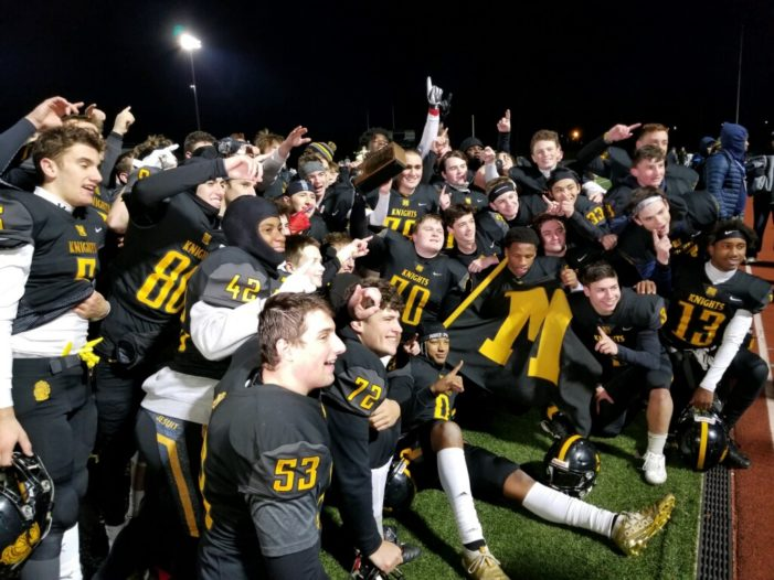 The Dark Knights: McQuaid defeats Aquinas again to claim sectional title