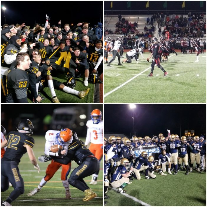 Weekend Sectional Football Wrap: McQuaid wins first title since 1978; Wantuck's two touchdown night leads Canandaigua