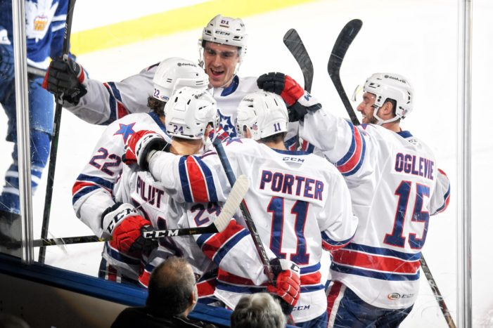 Even without the A-team, the Amerks keep winning
