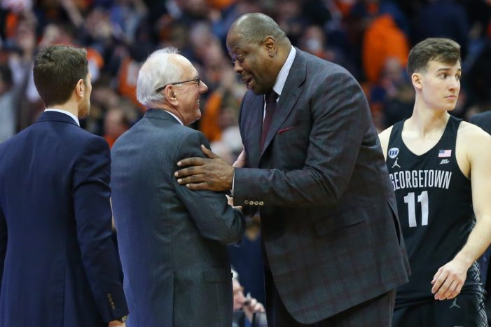 Syracuse vs. Georgetown: Previewing the Hoyas