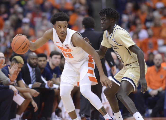 Heyen: First step to Syracuse turnaround? Solve Georgia Tech's defense
