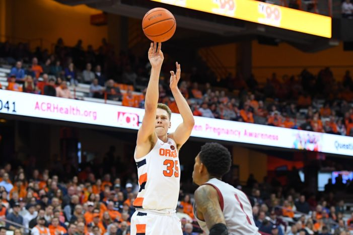 Syracuse's win at Georgia Tech shows upside of SU's 3-point recipe