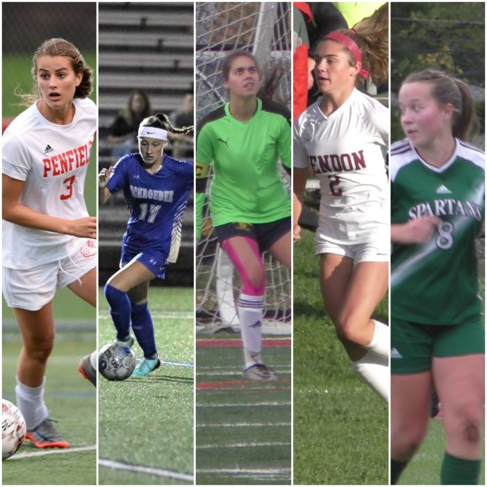 Wall, Collins, O'Hara, Hewlett and Murphy lead Monroe All-County selections