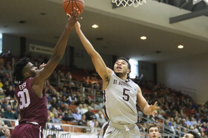 Holmes scores 38 as Bonnies run away from St. Joseph's