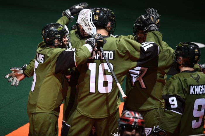 Knighthawks take down defending champs for first win in franchise history