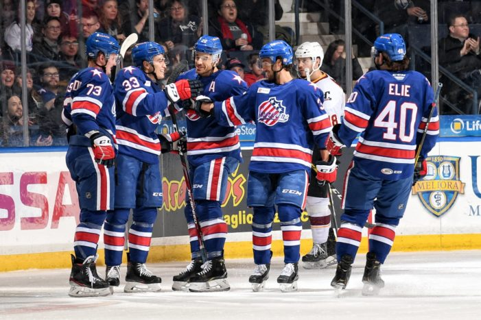 Amerks hold off Syracuse for third straight win