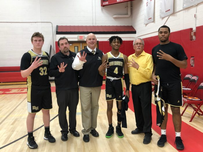Chris Reed wins 400th game as Rush-Henrietta beats Penfield, 75-72