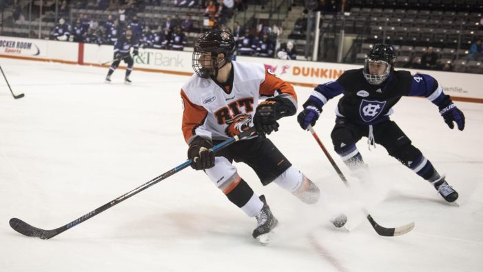 Joffe's shootout goal gives RIT victory