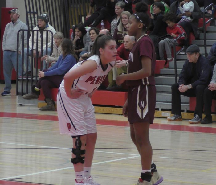 Teal scores 1,000th career point; Penfield outlasts Mendon