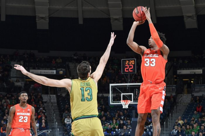 Syracuse vs. Notre Dame: Previewing the Fighting Irish