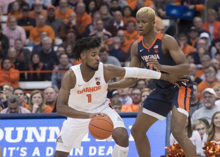 Syracuse vs. Virginia: Previewing SU's rematch with the No. 18 Cavaliers