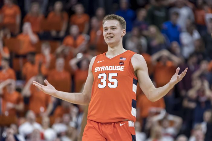 Syracuse's overtime 3-point barrage leads to upset of No. 18 Virginia