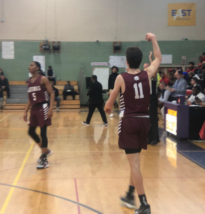 'Long overdue': Jack Bleier's 3-point shooting leads Aquinas to win