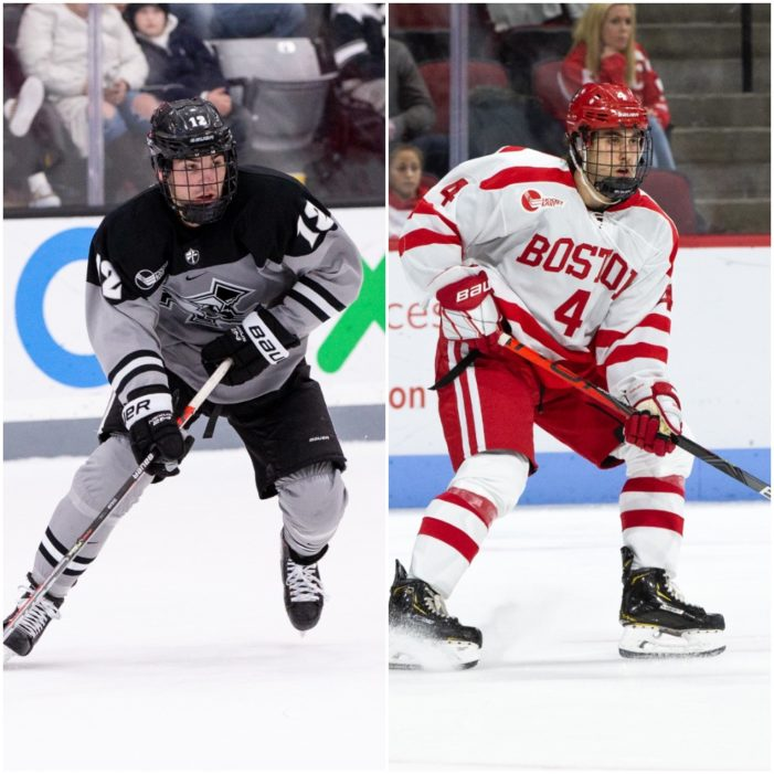 Section V Alumni Jack Dugan  and David Farrance  Nominated for Hobey Baker