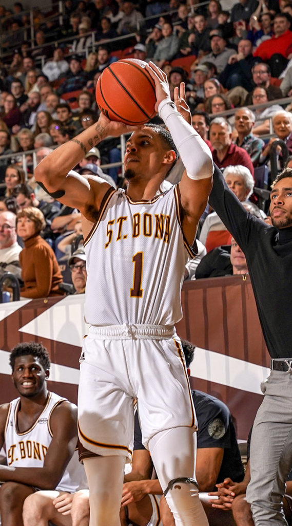 Galvanized by big run, Bonnies win on Homecoming