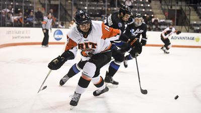 Hamacher's hatty leads RIT past Bentley
