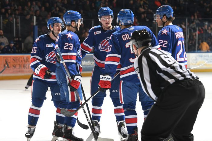 Amerks winning streak comes to an abrupt end