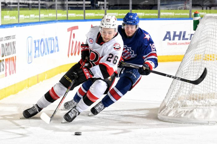 Amerks learn why Belleville is the team to beat