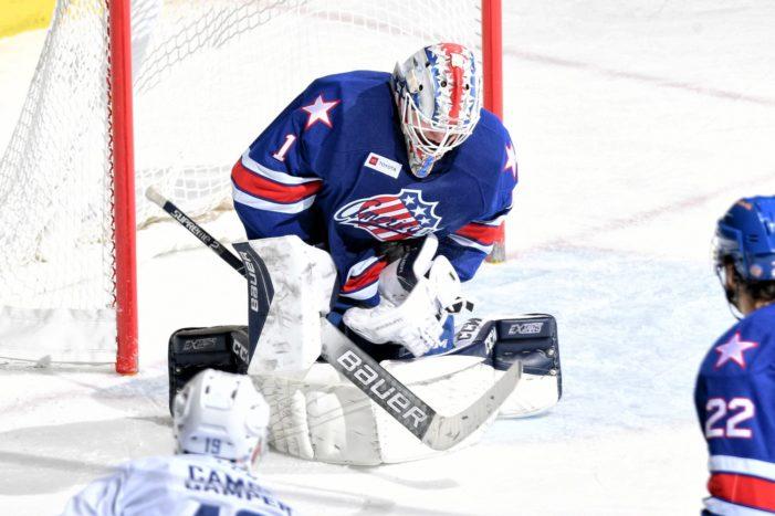 Luukkonen's last-minute heroics save Amerks