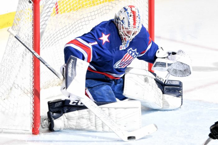 Disappointing week ends for Luukkonen and the Amerks
