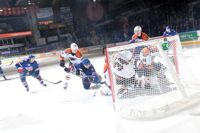 Bryson lifts Amerks in overtime