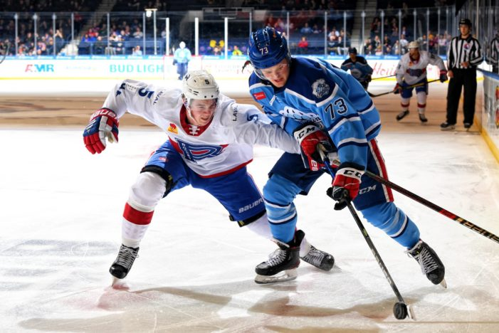 Amerks double up Laval to close out homestand