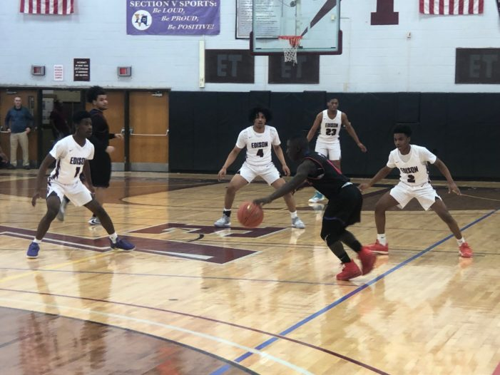 Edison's season-best defensive outing leads to 87-48 win over Monroe